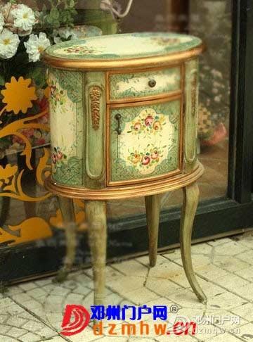 欧式手绘田园边柜打造完美品质家居 - 邓州门户网 邓州网 - 34893_T2.jpg