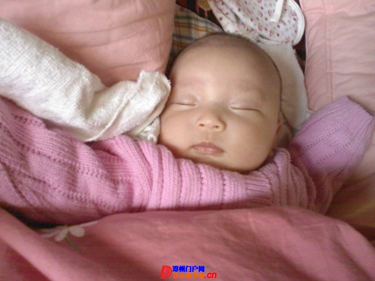 我的宝宝四十六天了,来晒一晒,看谁认识,呵呵 - 邓州门户网 邓州网 - 1e03a2cqfb4c.jpg