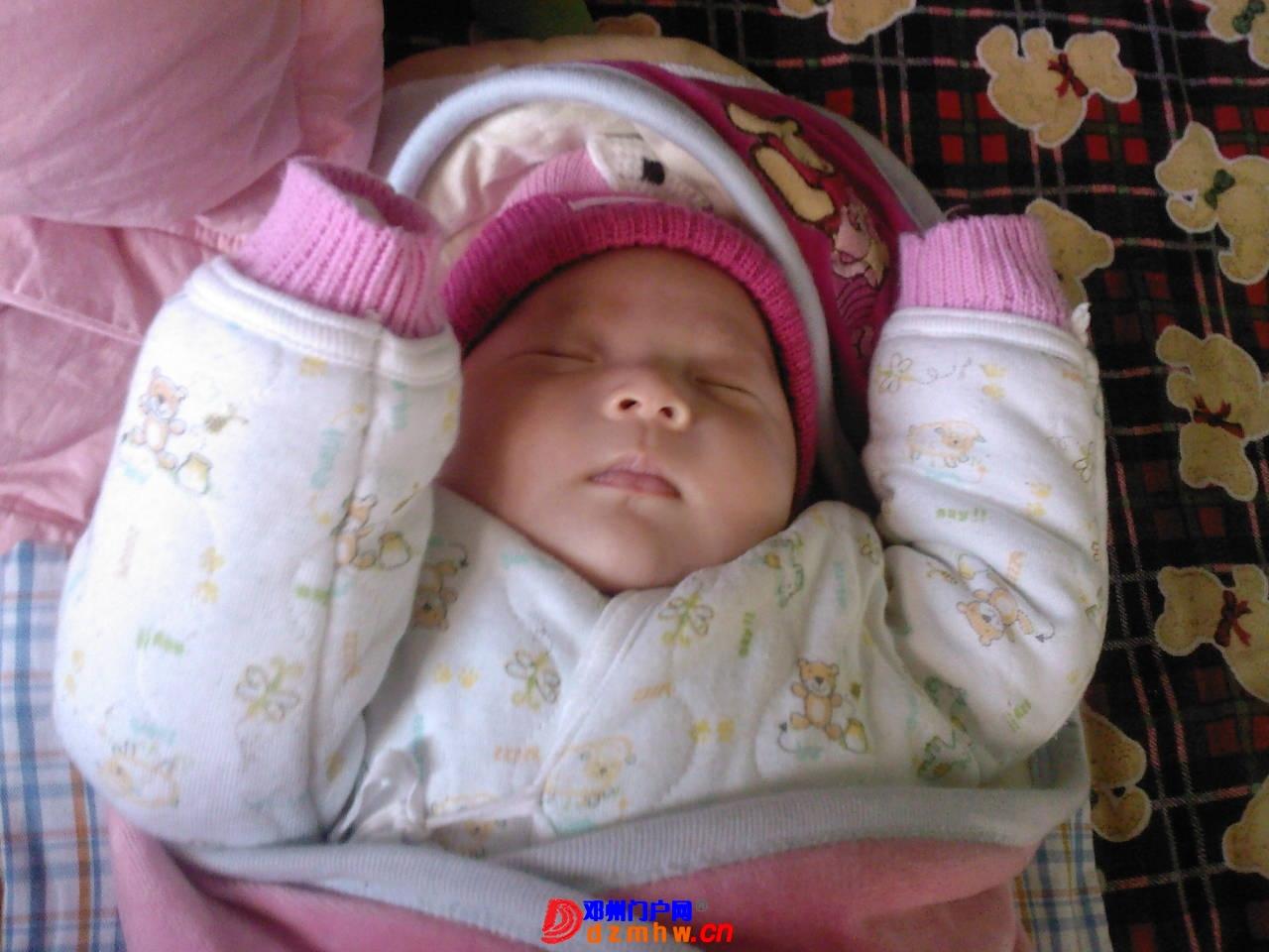 我的宝宝四十六天了,来晒一晒,看谁认识,呵呵 - 邓州门户网 邓州网 - 1f02a57q185b6.jpg