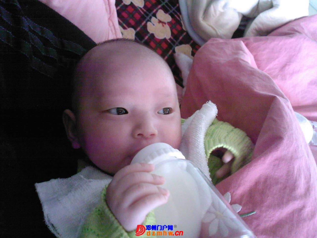 我的宝宝四十六天了,来晒一晒,看谁认识,呵呵 - 邓州门户网 邓州网 - 1403523qfd76.jpg