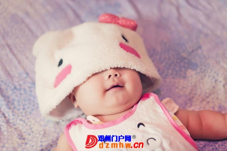 同事帮我在家给我女儿拍的写真,4个月大。挺给力的阿 - 邓州门户网|邓州网 - 170488_d3cf137593077921f3c24575b770a.jpg
