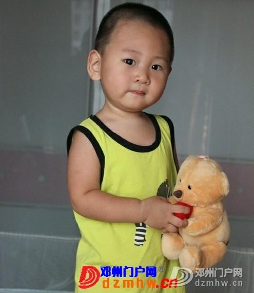 问他相片里的是谁?儿子对着自己的照片喊哥哥,呵呵! - 邓州门户网|邓州网 - 223932_eb00137670239958a050444eb53d1.jpg
