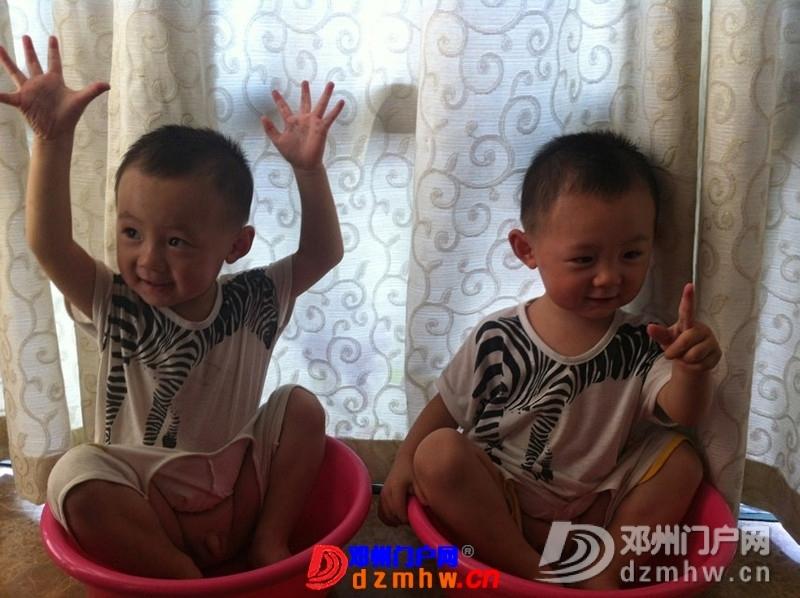 我家可爱的双胞胎宝宝,家里有两个在活宝,生活如此的多娇呀 - 邓州门户网|邓州网 - 325603_ffbe137671594179ec34334d14965.jpg