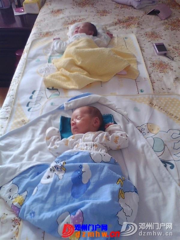 我家可爱的双胞胎宝宝,家里有两个在活宝,生活如此的多娇呀 - 邓州门户网|邓州网 - 325603_b5531376888362bcafefd00d80e52.jpg