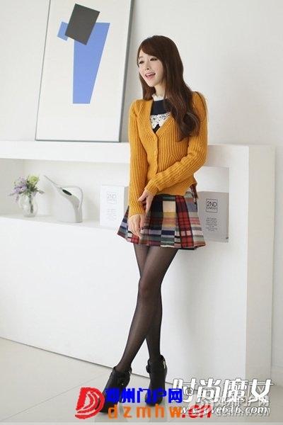 秋末时尚上班族女生毛衣外套搭配 - 邓州门户网|邓州网 - 19504B4I-0.jpg