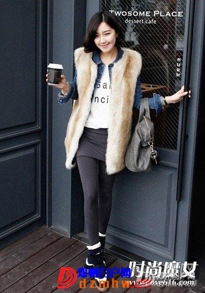 冬季女生皮草搭配方法时尚大气 - 邓州门户网 邓州网 - 1A3004342-0.jpg