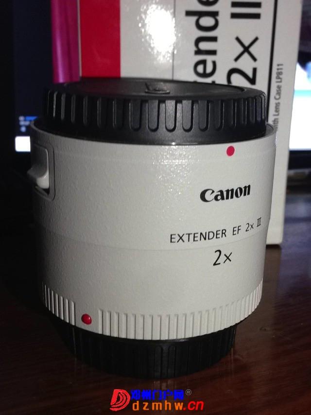 出佳能 Extender EF 2X III 二倍增距镜 98新 - 邓州门户网|邓州网 - 172341l3ofgo2b3fvzdgkw.jpg
