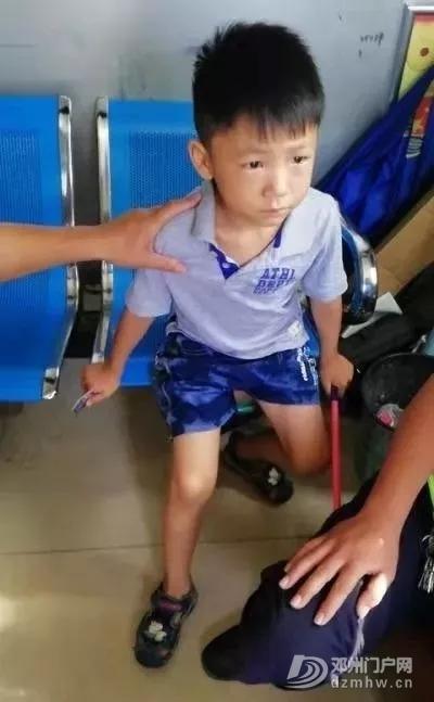 谁家的小孩子又迷路,邓州交警安全送回! - 邓州门户网|邓州网 - 640.webp.jpg