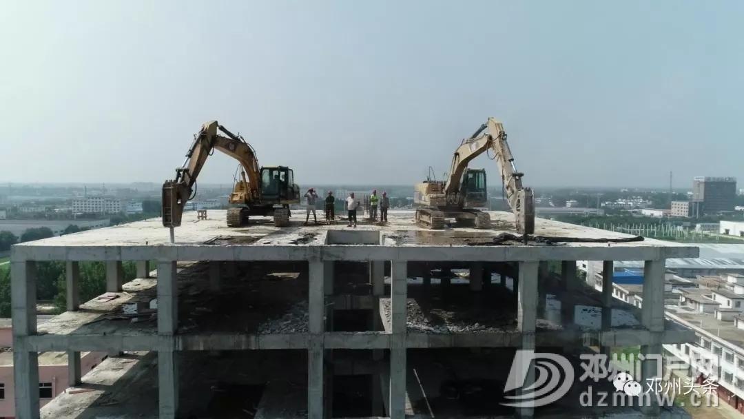 邓州穰城路南段一12层违建被拆除! - 邓州门户网|邓州网 - 6401.webp7.jpg