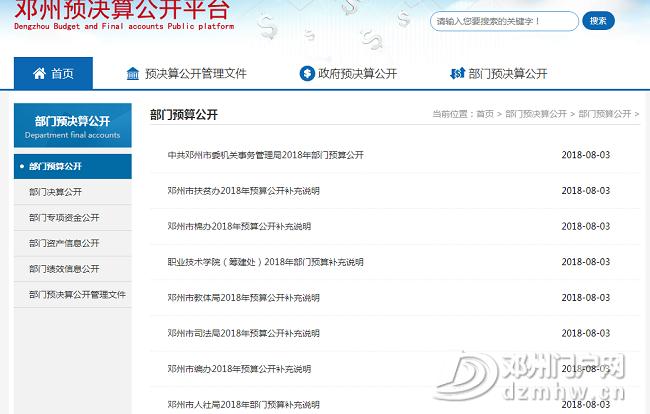 邓州市2018年政府信息公开工作年度报告 - 邓州门户网|邓州网 - 53d7e6c4a1424fb14cea94978b07de89.png