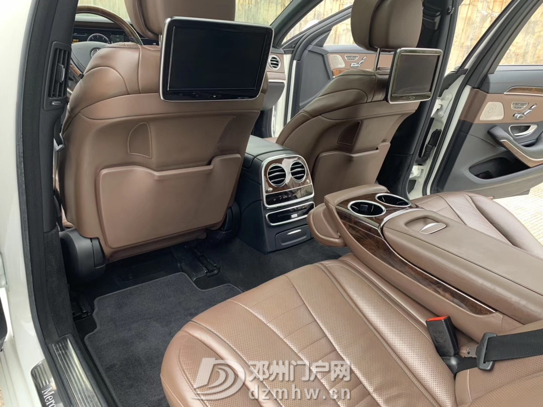 出售2016年奔驰S550 AMG/白色棕内 - 邓州门户网|邓州网 - IMG_5111.JPG