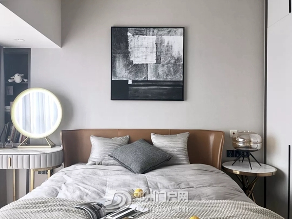 这款115平的现代简约风三居室,用原木和灰色打造舒适感! - 邓州门户网|邓州网 - 115平米现代简约三居室效果图4.jpg
