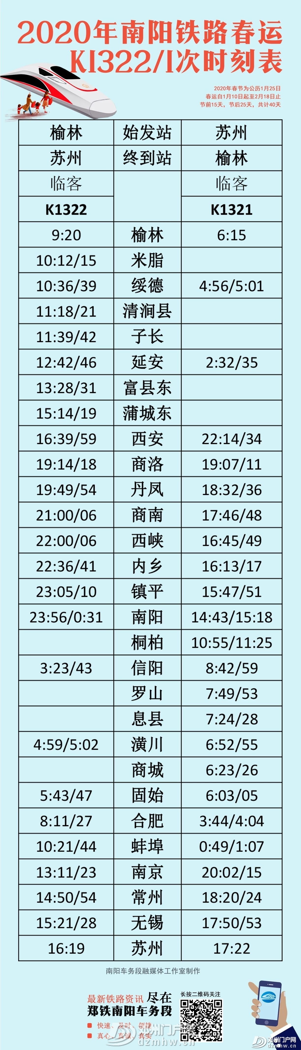 最新!春运期间,邓州加开4趟普速临客! - 邓州门户网|邓州网 - a3bd066b9c8e0d8b141923e7e4483700.jpg