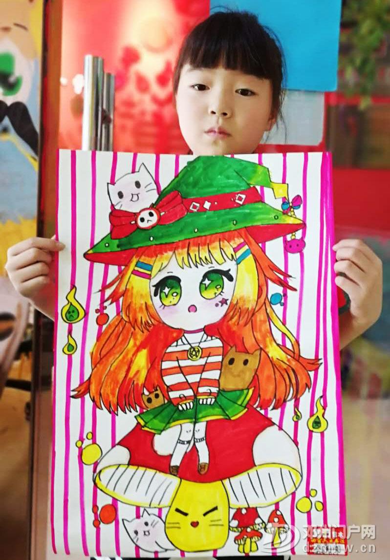 我为邓州加油——童画艺术小伙伴的呐喊 - 邓州门户网|邓州网 - bd3239a775b2c0e26efb6b12c8c1994.jpg