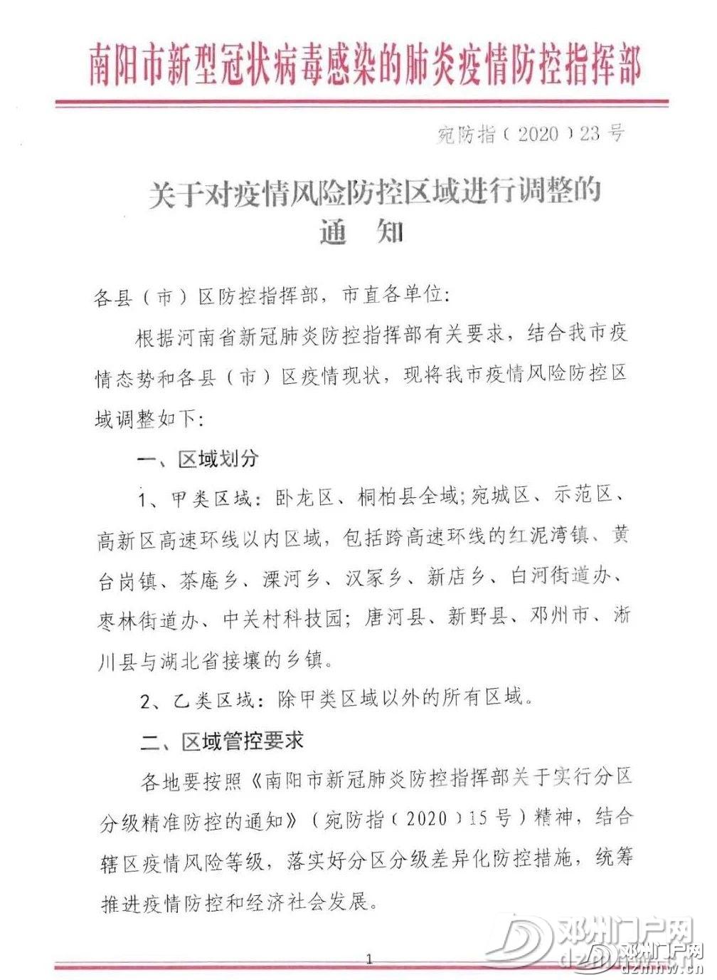 速转!关于邓州卡口撤销官方文件已出! - 邓州门户网 邓州网 - 4302dc7691df436c3dd5491b26867133.jpg