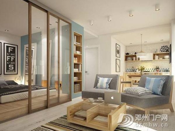 隔断是个好技巧,划分开放式卧室连客厅空间有诀窍 - 邓州门户网 邓州网 - aa63fa7cdb35d8e563d0f58b84773487.jpg