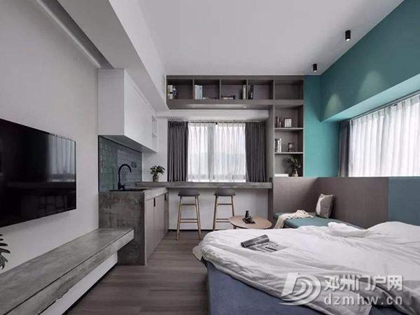 隔断是个好技巧,划分开放式卧室连客厅空间有诀窍 - 邓州门户网 邓州网 - f2bf299667dba112560b5f97b73da0aa.jpg