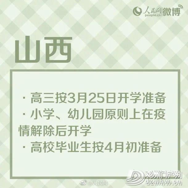 邓州开学返校最新消息! - 邓州门户网|邓州网 - 55087b2634f70de4c4573738b0709889.jpg