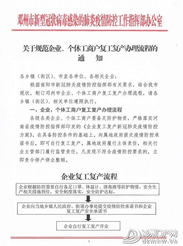 关于邓州企业 、个体工商户复工复产的通知! - 邓州门户网|邓州网 - 55c3b2a3d221c787b4b26639da2c8969.jpg
