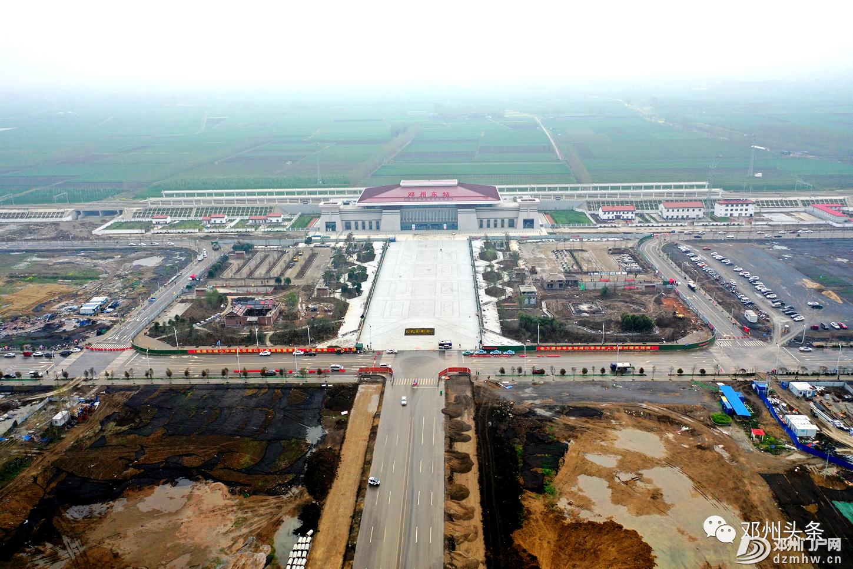 邓州高铁片区的最新建设进展!附高清视频!