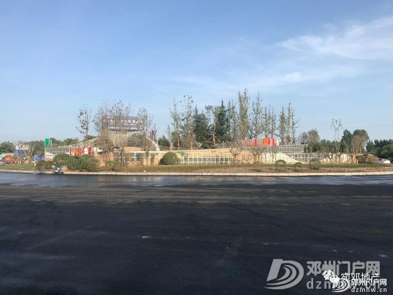 最新实拍!邓州高速口大转盘已建成 - 邓州门户网 邓州网 - 4160f01f67d9712903ccbc469abb7158.jpg