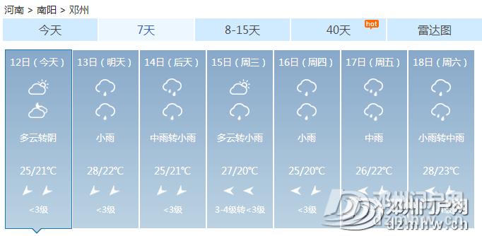 实拍!这就是今天的邓州:狂风暴雨,大树掀翻、道路被堵!已发布暴雨黄色预警... - 邓州门户网|邓州网 - 3c1197a91a2853f09952acb647b44015.png
