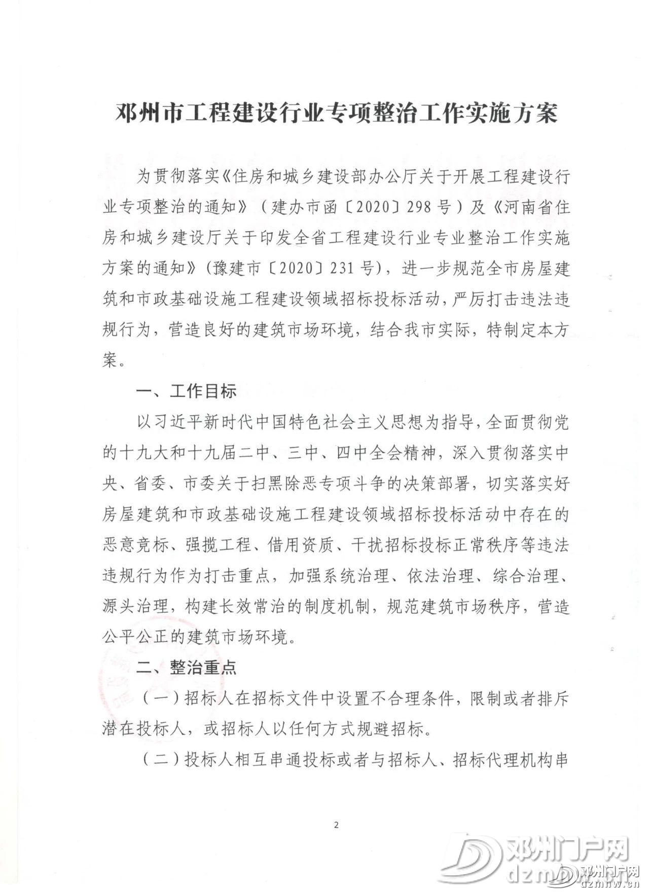 邓州市住房和城乡建设局关于印发全市工程建设行业专项整治工作实施方案的通知 - 邓州门户网|邓州网 - 076c5d2a82ffdf13cd1612702a80ff21.jpg