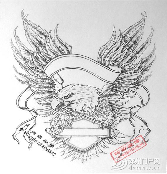 手绘素描画像手工画像 - 邓州门户网|邓州网 - 5c6dfa98d925a494.jpg