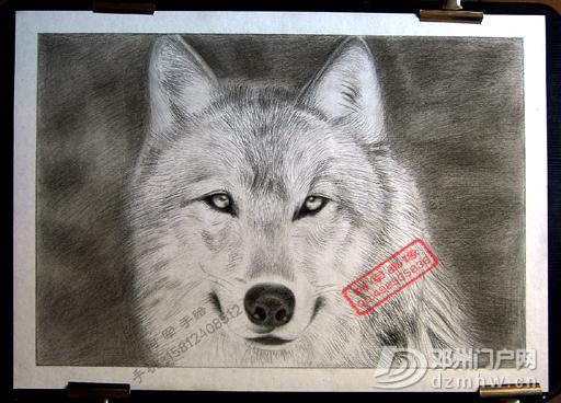 手绘素描画像手工画像 - 邓州门户网|邓州网 - -4a140a869fd736d9.jpg